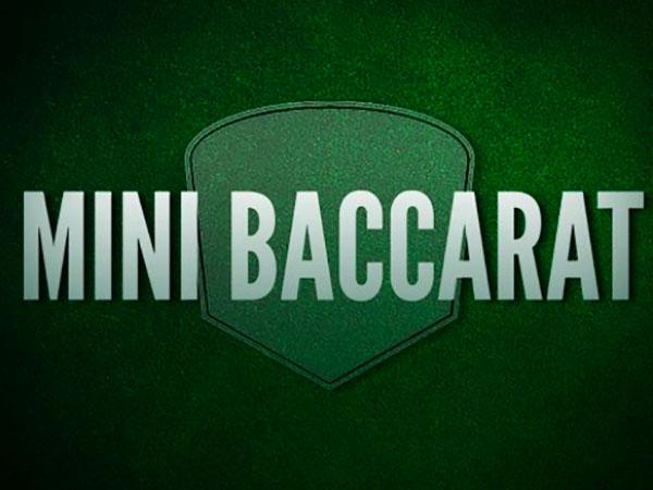 Mini Baccarat Strategy